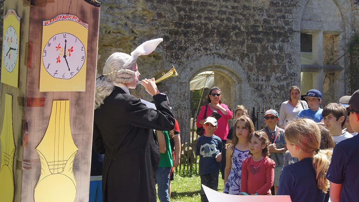 Pâques au château de Villandraut