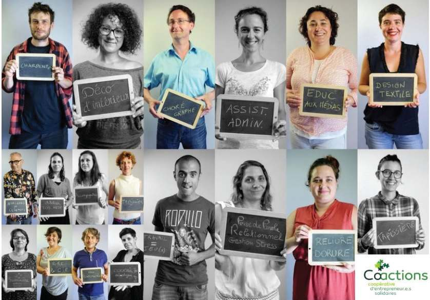 Entreprendre en coopérative : la solution !
