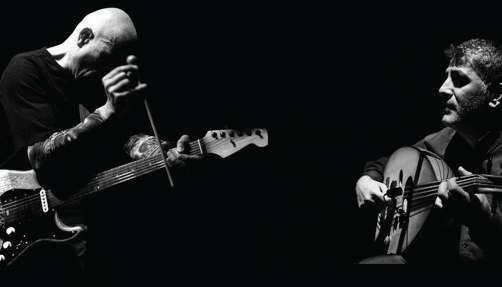 Concert Interzone - Serge Teyssot-Gay et Khaled Aljaramani