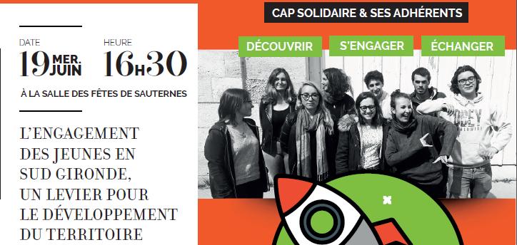 Temps de présentation de l'action jeunesse de Cap Solidaire